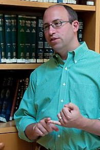 "Yehuda Kurtzer, president of the Shalom Hartman Institute of North America, initiated a debate about using today for an online ""social ceasefire"" (photo courtesy: Shalom Hartman Institute)"