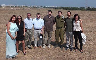 The B'nai B'rith Europe solidarity group (photo credit: courtesy)