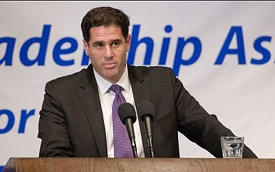 Israel's Ambassador to the US Ron Dermer, July 29, 2014 (Ron Sachs)