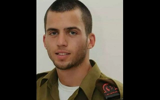 Sgt. Oron Shaul, whose death in Gaza on July 20 was formally confirmed by the IDF on July 25 (Photo credit: Courtesy)