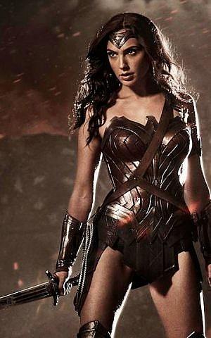 Gal Gadot as Wonder Woman (photo courtesy: Zack Snyder/Warner Bros)