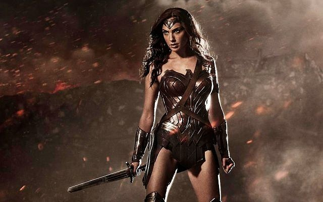 Israeli actress Gal Gadot as Wonder Woman (Zack Snyder/Warner Bros)