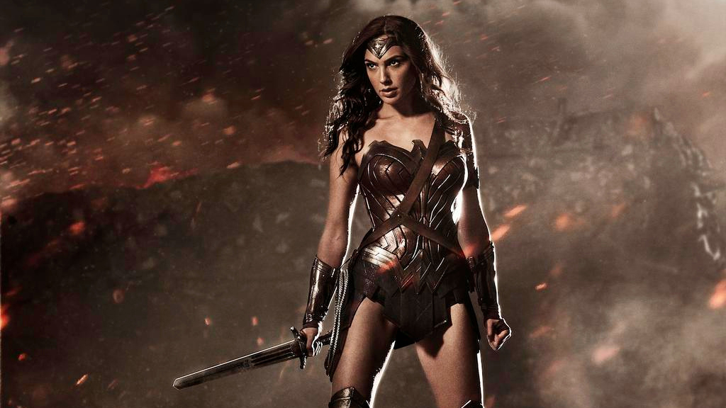 Gal Gadot as Wonder Woman (photo courtesy: Zack Snyder/Warner Bros)
