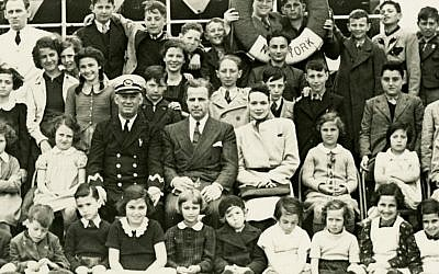 The Krauses and children aboard the SS President Harding (courtesy)