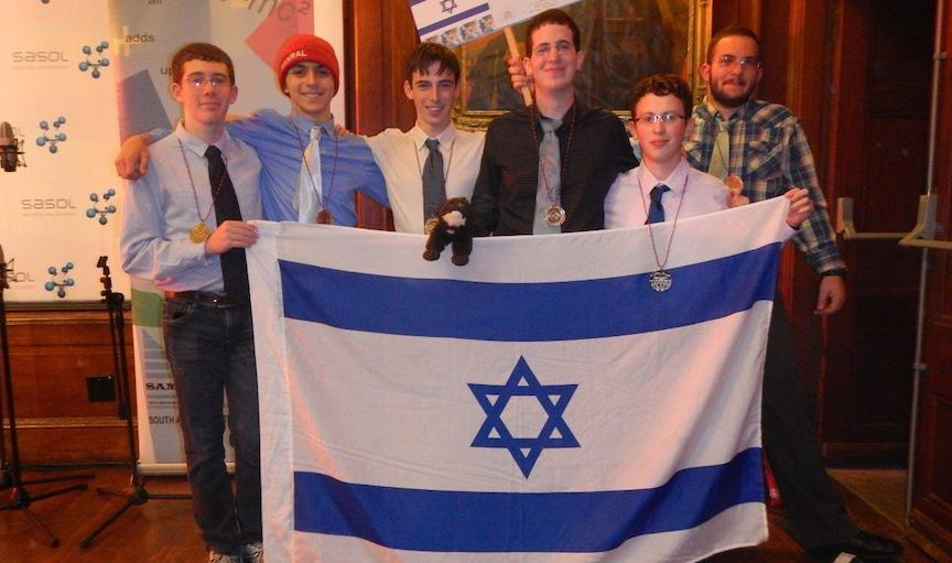 Students take almost-top prizes in math Olympiad | The Times of Israel