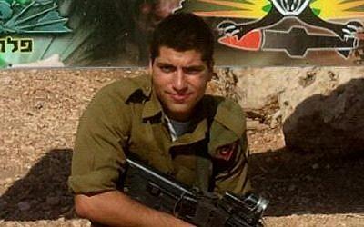 Sgt. Oz Mendelovich, 21, of Atzmon, a Golani soldier killed in the Gaza Strip on July 20, 2014 (Photo credit: Courtesy)