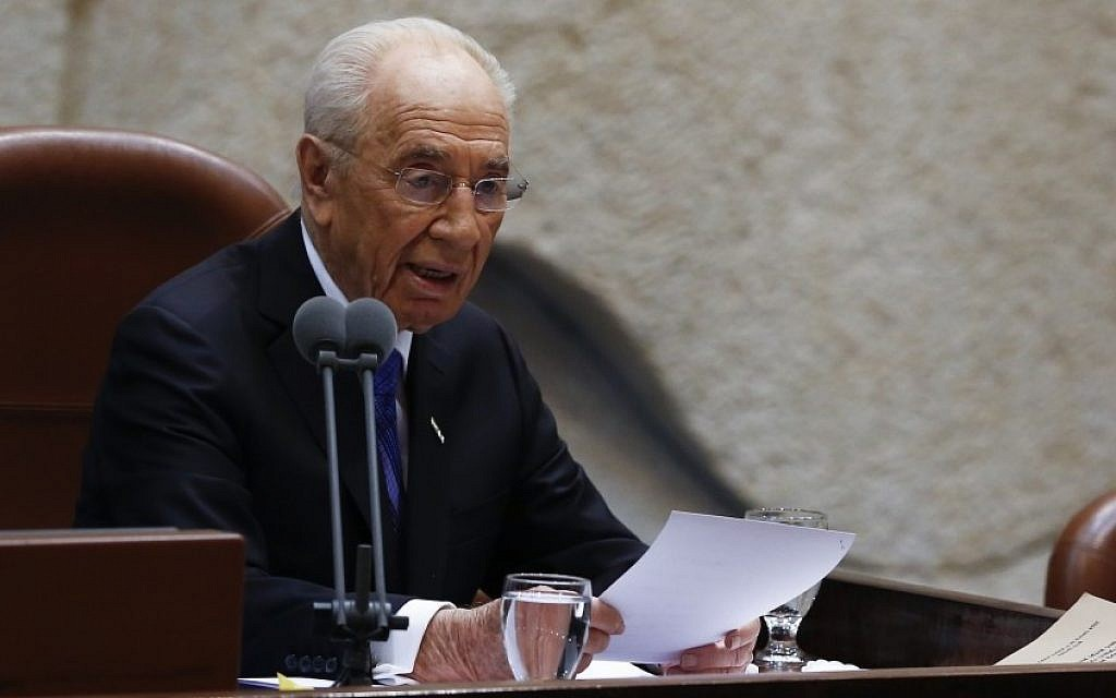 Shimon Peres (photo credit: JTA)