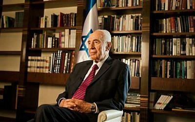 Israel's former president Shimon Peres (photo credit: AP/Dan Balilty)