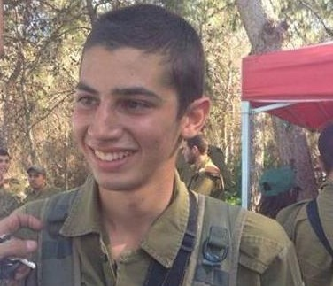 Sgt. Shon Mondshine, 19 years old, killed in action during Operation Protective Edge. (Photo credit: Facebook)
