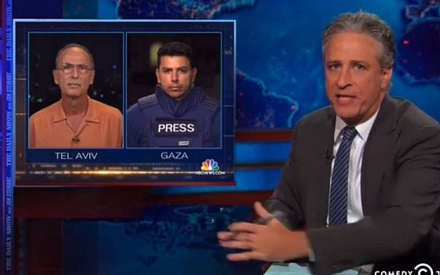 Jon Stewart: The correspondents (YouTube screenshot)