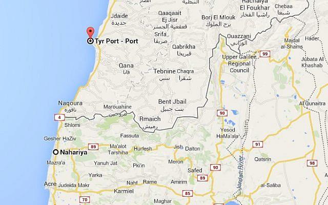 Norwegian NGO sponsors map exhibit that swaps Israel, Palestine ...