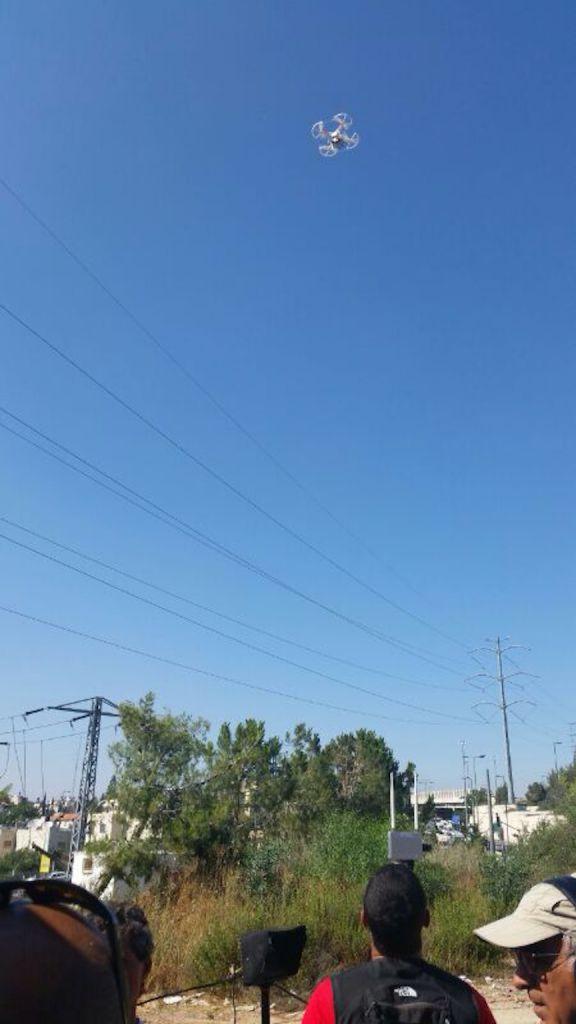 A Bladeworx UAV above the skies of Jerusalem (Photo credit: Courtesy)