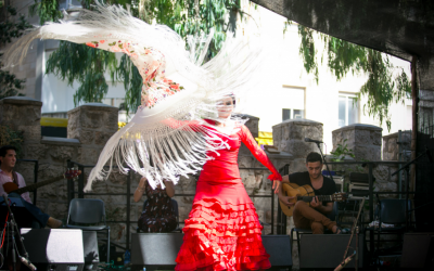 A storm of flamenco at last year's Frontline festival, part of the Jerusalem Season of Culture (Courtesy Jerusalem Season of Culture)