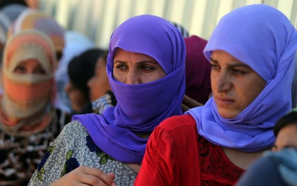 Syria Kurds return 25 Yazidis freed from IS to Iraq