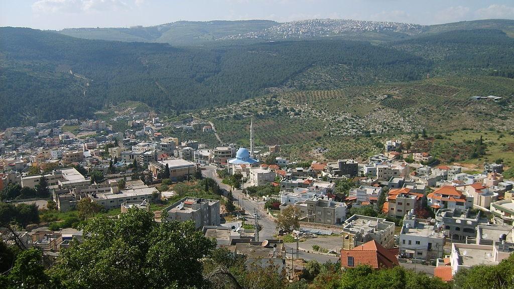 The village of Daburiyya, where Ahmed Eid grew up (Photo credit: gugganij/Wikipedia)