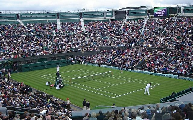 Illustrative photo of a tennis match (Photo credit: Wikimedia Commons, public domain)