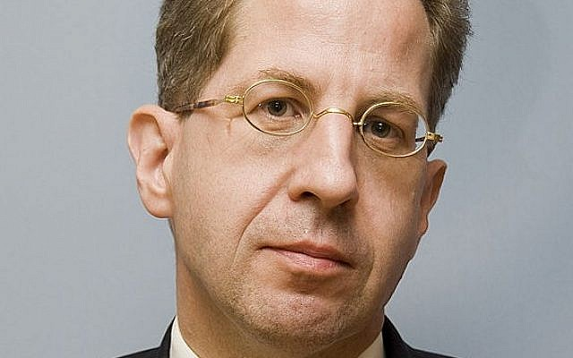 German domestic intelligence head Hans-Georg Maassen (photo credit: CC BY Wikipedia)