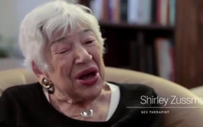 Shirley Zussman, August 2014 (screen capture: YouTube/Time/GetitVids)