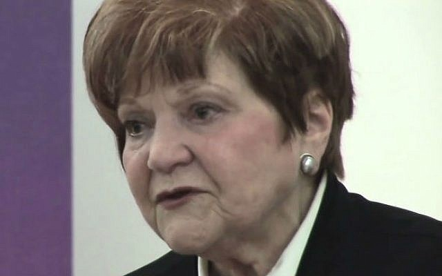 Human rights activist Helen Bamber (photo credit: YouTube screen cap)
