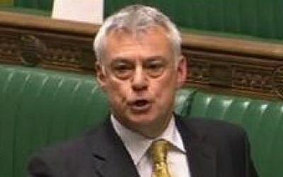 British Liberal Democrat MP David Ward. (courtesy)