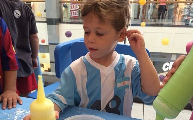 Daniel Tragerman, 4, who was killed in his home at Kibbutz Nahal Oz by a mortar shell fired from Gaza on August 22, 2014. (Courtesy)