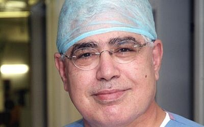 Prof. Ahmed Eid of Hadassah Hospital Mount Scopus. (Courtesy Hadassah)