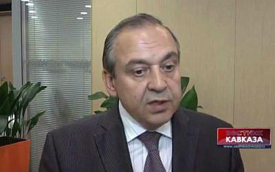 Deputy head of the Republic of Crimea, Georgy Muradov. (screen capture: YouTube/VestnikKavkaza)