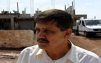 Doctor Ali Zoabi (Photo credit: Channel 10 screen capture)