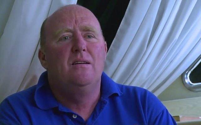 Sinn Fein councilman John Hearne (Photo credit: Youtube screen capture)