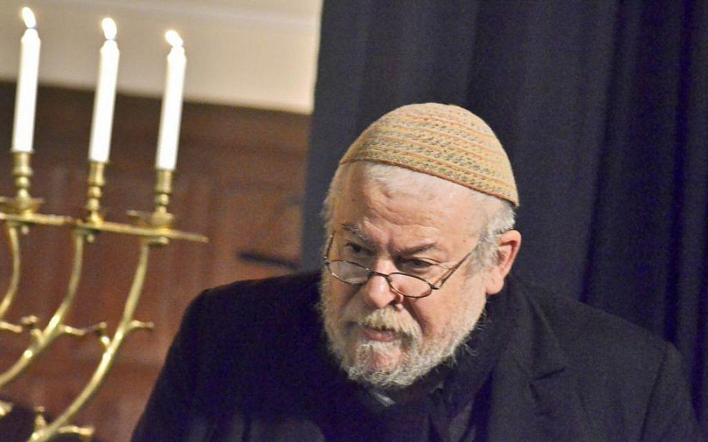 Rabbi Karol Sidon stepped down as Prague's chief rabbi amid reports about his love life. (Petr Balajka/Prague Jewish Community/JTA)