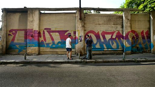 Hip Hop Graffiti In Lebanon Tag A Nations Woes The Times Of Israel
