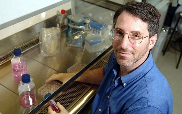 Dr. Leslie Lobel in the lab. (photo credit: Dani Machlis/Courtesy Ben-Gurion University of the Negev)