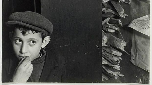 Detail from Roman Vishniac image from pre-Holocaust Poland. (© Mara Vishniac Kohn, courtesy International Center of Photography)