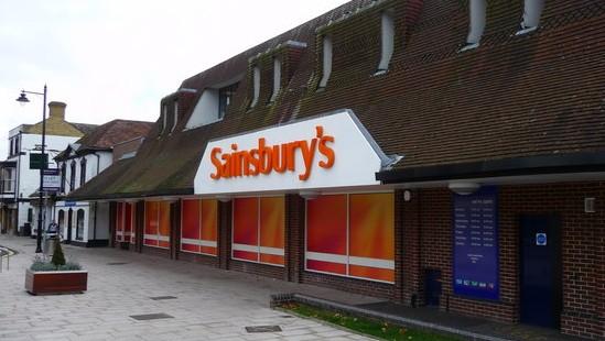 A Sainsbury's branch (photo credit: CC BY-SA Chris Talbot/Wikimedia Commons)