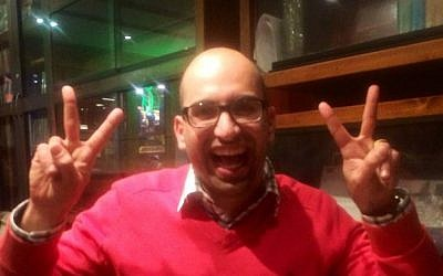 US academic Steven Salaita (photo credit: Facebook)