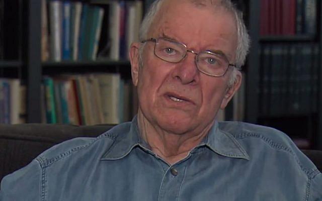 Leonard Fein, academic and writer. (YouTube screenshot)