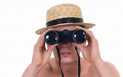 Peeping Tom image via Shutterstock