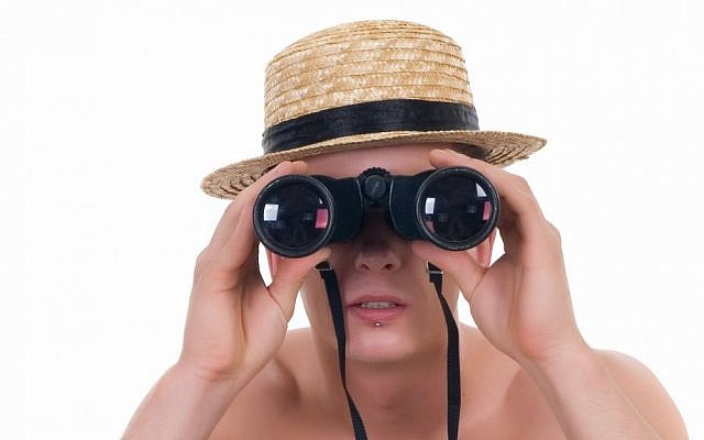 Peeping Tom image via Shutterstock