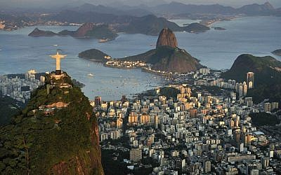 Illustrative view of Rio de Janeiro, Brazil.