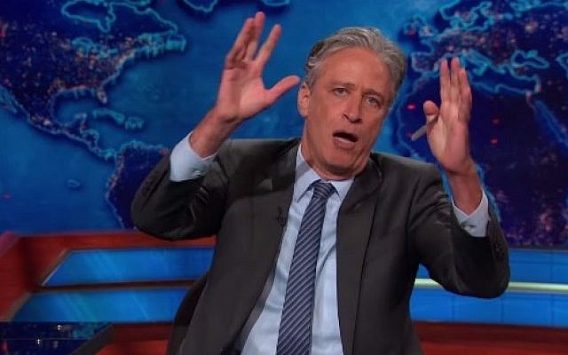 Jon Stewart on The Daily Show (Photo credit: Youtube screen capture)