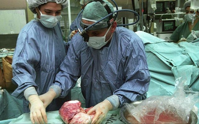 Illustrative image of transplant surgery. (Flash90)