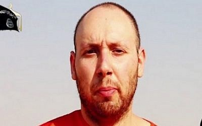 Steven Sotloff prior to his execution (screen capture)