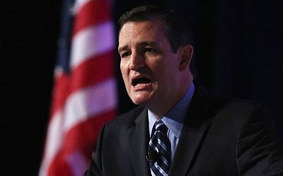Senator Ted Cruz (R-TX) speaks at the 2014 Values Voter Summit September 26, 2014 in Washington, DC (Photo credit: Mark Wilson/Getty Images/AFP)