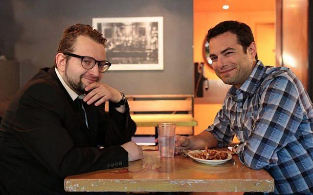 YidLife Crisis creators Eli Batalion (left) and Jamie Elman (Darren Curtis)