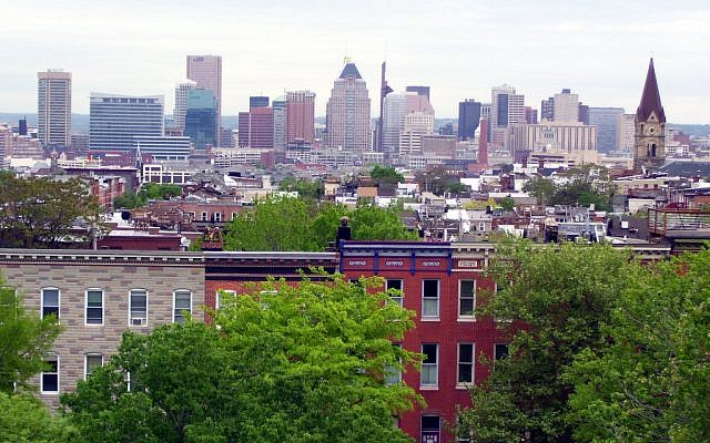 Baltimore skyline. (CC BY SA Phil! Gold/Flickr)
