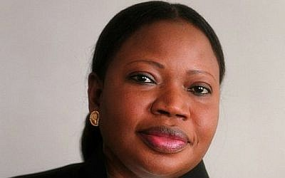 Chief Prosecutor at the International Criminal Court Fatou Bensouda. (photo credit: Wikimedia Commons ASA 3.0/Fatou Bensouda)