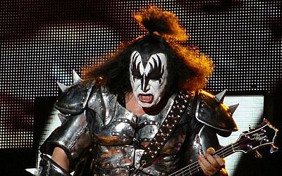 Gene Simmons performing with KISS in 2010. (CC BY/Wikipedia)