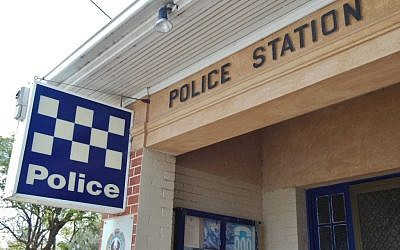 Illustrative photo of an Australian police station (photo credit CC BY-SA Michael Coghlan/Flickr)