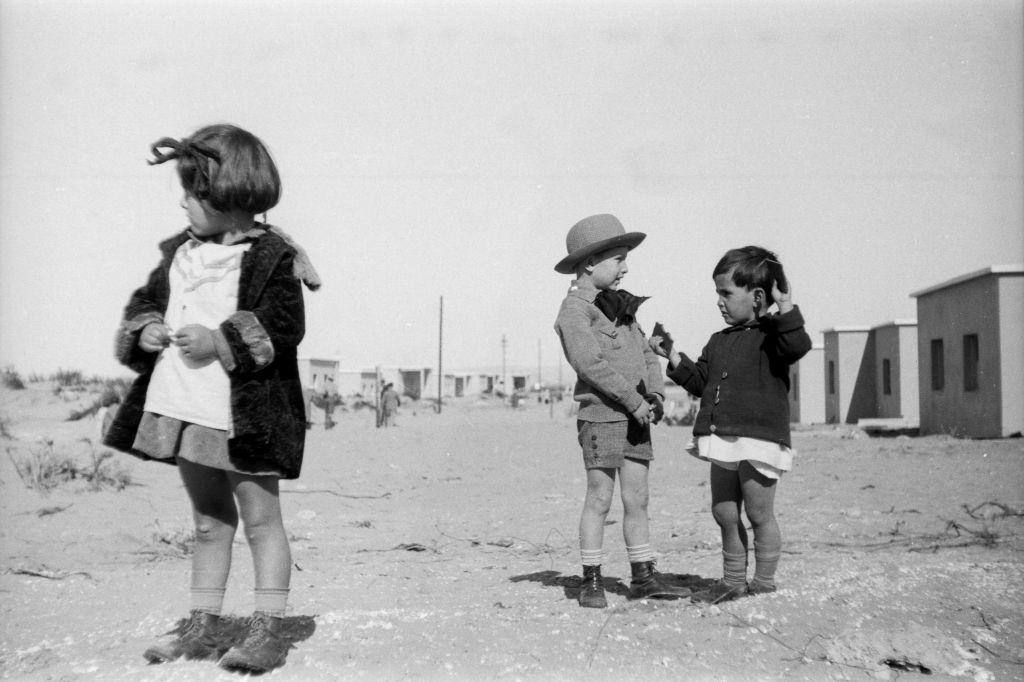 One of Ze'ev Aleksandrowicz's photos from a 1932 trip to Palestine (photo credit: Ze'ev Aleksandrowicz)