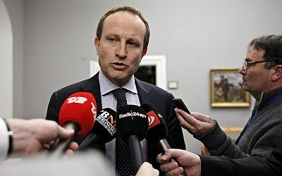 Danish Foreign Minister Martin Lidegaard (photo credit: AP/Polfoto, Jens Dresling)
